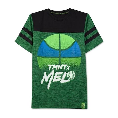 Nickelodeon Boys Tmnt X Melo Graphic T-Shirt