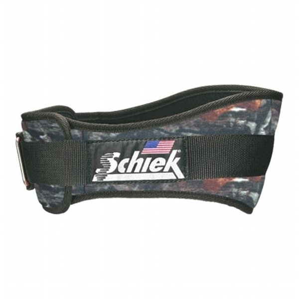 Schiek 4.75 in. Original Nylon Belt, Camoflage - Large