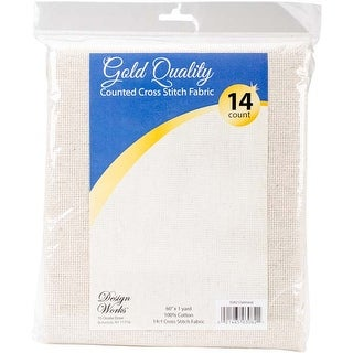 "Oatmeal - Design Works Gold Quality Aida 14 Count 60""X36"""