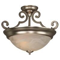 Craftmade X224 2-Light Semi Flush Ceiling Fixture