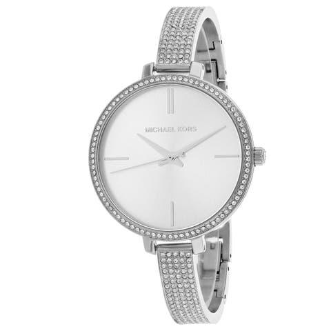 Michael Kors Women's Jaryn Silver Dial Watch - MK3783
