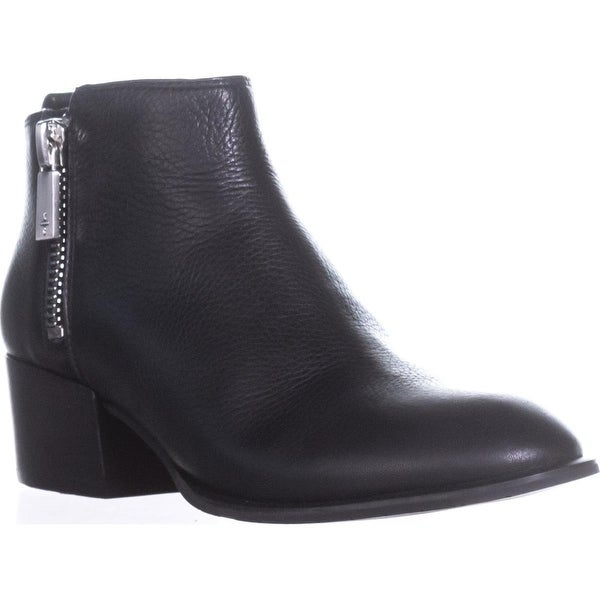Kenneth Cole 7 Addy Casual Ankle Booties, Black