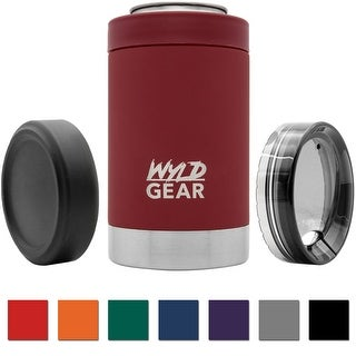 Wyld Gear 12 oz. Vacuum Insulated Stainless Steel Multi-Can Cooler - 12 oz.