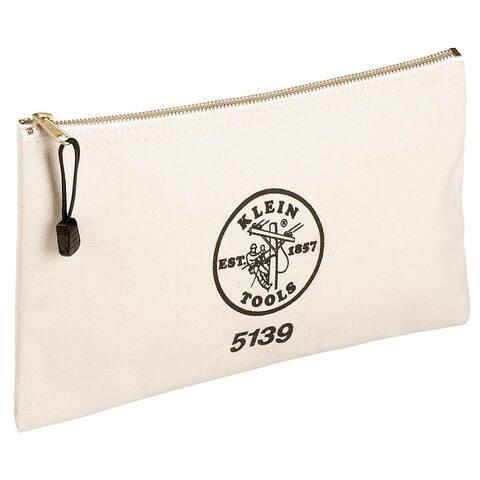 Klein Canvas Zipper Bag