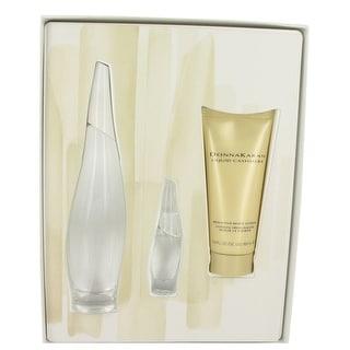 Gift Set -- 3.4 oz Eau De Parfum Spray + .24 oz Mini EDP + 3.4 oz Body Lotion