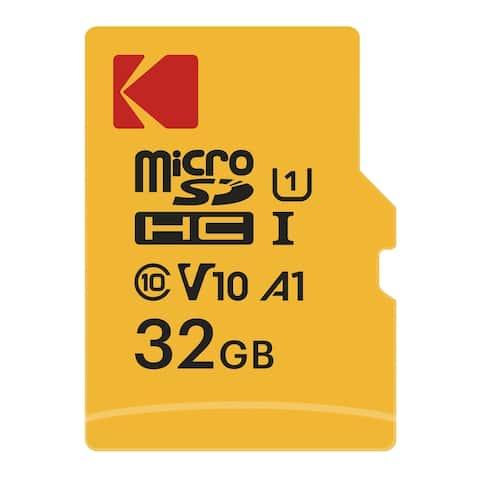 Kodak 32GB Class 10 UHS-I U1 microSDHC Card with Adapter