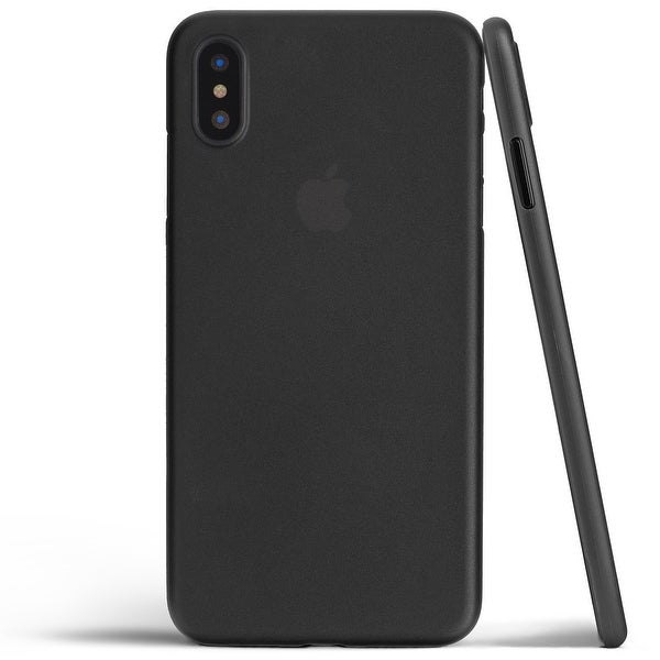 The Ultimate Thin Case for iPhone X - Thinnest Premium Ultra Thin Cover - Light, Slim, Anti-Scratch - Frosted Black