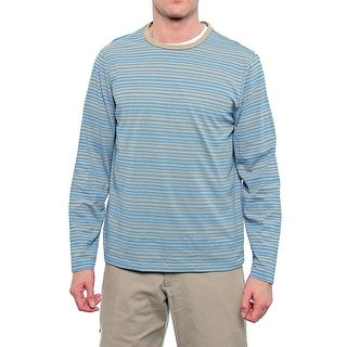 Perry Ellis Long Sleeve Crew Neck T-Shirt Men Regular Basic T-Shirt
