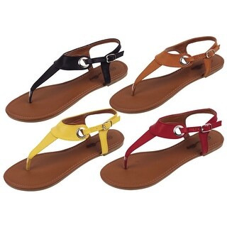 Plain Jane Simple Sandals In 4 Different Colors