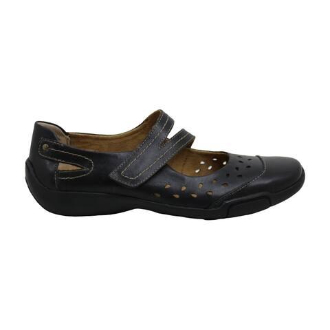ARRAY Womens Breeze Leather Closed Toe Mary Jane Flats