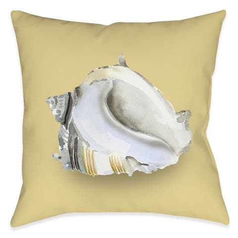 Shell Ashore Indoor Pillow