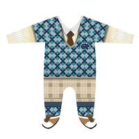 Boy's Novelty Baby Snapsuits - One-Piece Toddler Outfit - Golfer