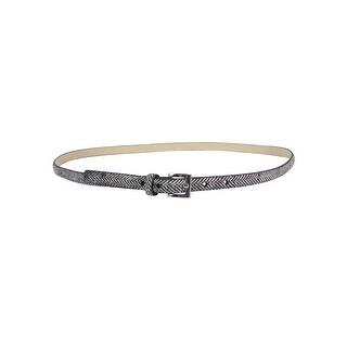 Style & Co. Women's 2PC Herringbone Faux Leather Belts