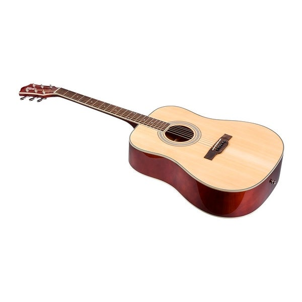 shop monoprice foothill acoustic guitar natural with gig bag idyllwild series free. Black Bedroom Furniture Sets. Home Design Ideas