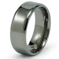 7mm Titanium Ring (Sizes 8-12)