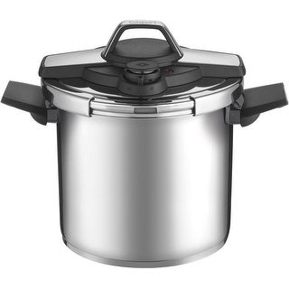 Cuisinart CPC22-8 8 Qt. Stainless Steel Pressure Cooker (Black Stainless)