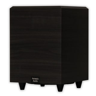 """Acoustic Audio PSW-8 Home Theater Powered 8"""" Subwoofer 300 Watts Surround Sound Sub"""