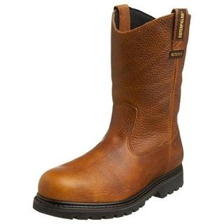 Caterpillar Mens Edgework Steel Toe Waterproof Work Boots - 7 wide (e)