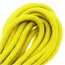 Paracord 550 / Nylon Parachute Cord 4mm - Neon Yellow (16 Feet/4.8 Meters)