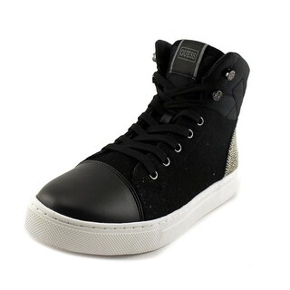 Guess Janis 2 Round Toe Canvas Sneakers