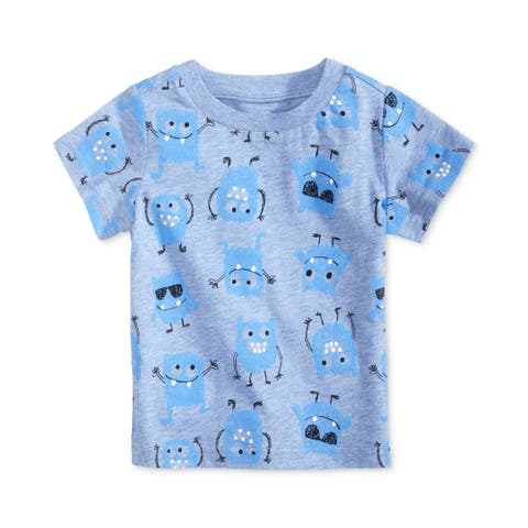 First Impressions Boys Monster Basic T-Shirt