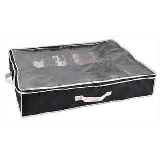 Shoe Box 12 Pair Underbed Black - White #44;