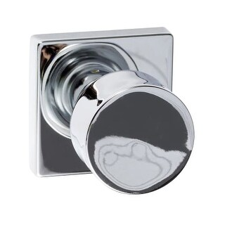 Delacora DHDW-SQ100BG Wilson Square Single Dummy Door Knob (Option: Stainless Steel Finish)