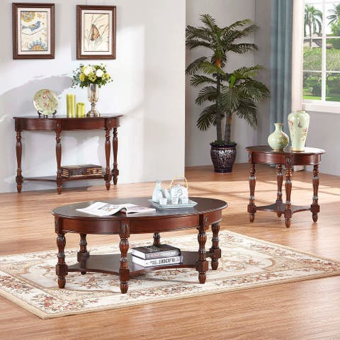 Living Room Coffee Table,Entryway Table, End Table Set