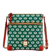 Dooney & Bourke NFL Green Bay Packers Crossbody Shoulder Bag (Introduced by Dooney & Bourke at $188 in Aug 2016)