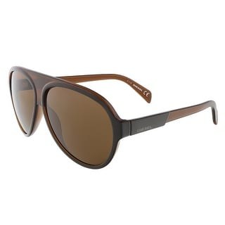 Diesel DL0138/S 50E Brown Teardrop Aviator sunglasses - 61-11-140