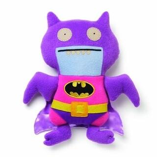 "Ugly Dolls DC Comics 11"" Plush: Pink/Purple Ice-Bat Batman - multi"