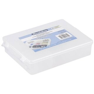 "Beadalon - Beading Storage - 17-Compartment Bead Box - 7"" x 11"""