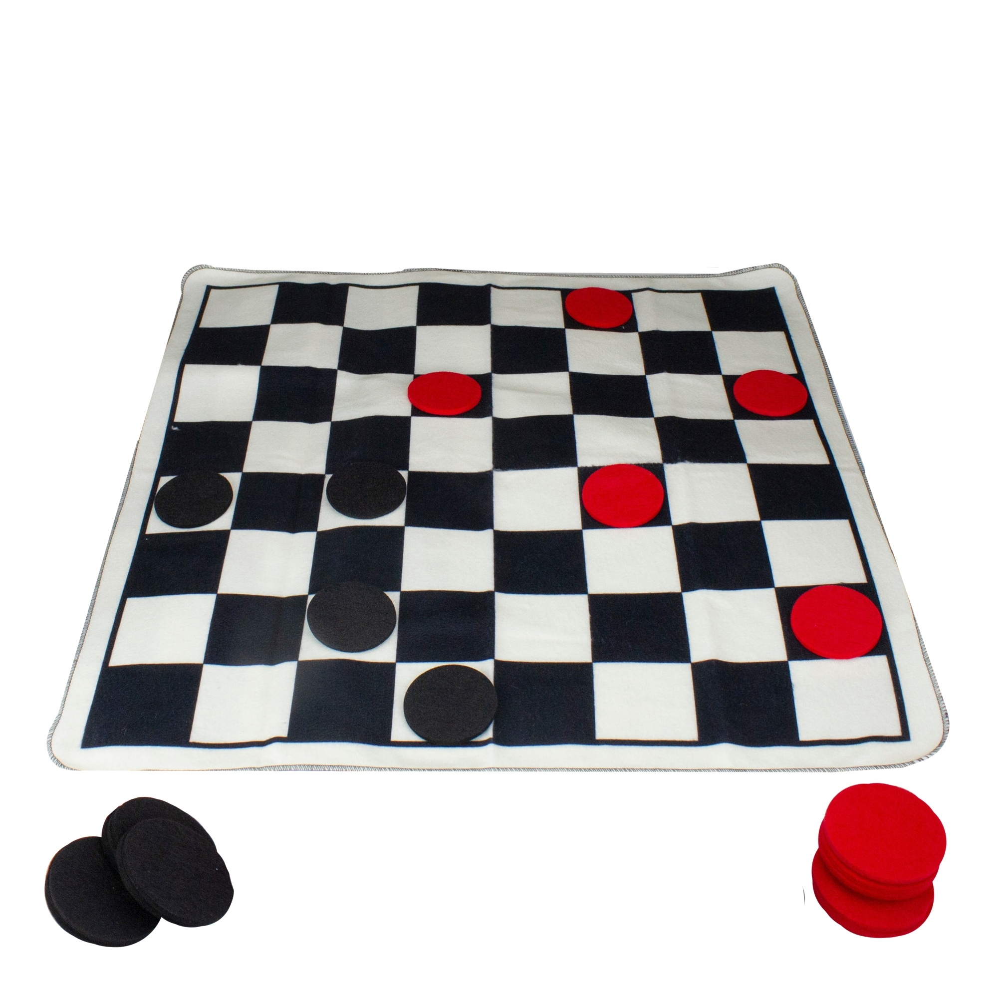 Shop 23 5 Fleece Black And White Checkers Game With Felt Checkers Pieces Overstock 31715212,Caffeine Withdrawal Symptoms Reddit