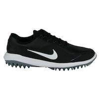Shop Nike Men s Lunar Ascend Black  Green Golf Shoes (Blem) - Free ... 3b8cf96660e