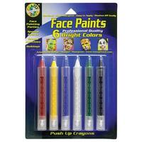 Crafty Dab Push-Up Face Paints 6Pk