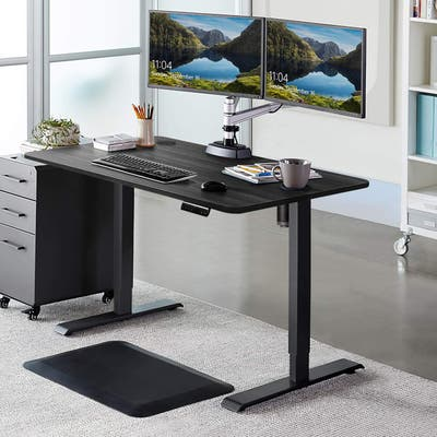 Homall Electric Height Adjustable Standing Desk 43inch Office Desk
