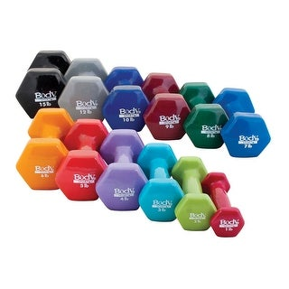 Body Sport Vinyl Dumbbell - Sold Individually (More options available)
