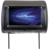 "Power Acoustik H-91Cc Universal Headrest Monitor With Ir Transmitter & 3 Interchangeable Skins (9"")"