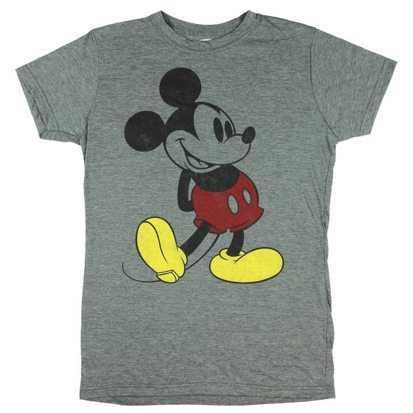 Disney Classic Mickey Mouse Juniors Painted Mickey Graphic T-Shirt