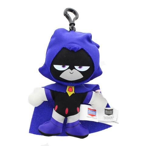 """DC Comics Teen Titans Go! 4"""" Raven Plush Clip-On - multi"""