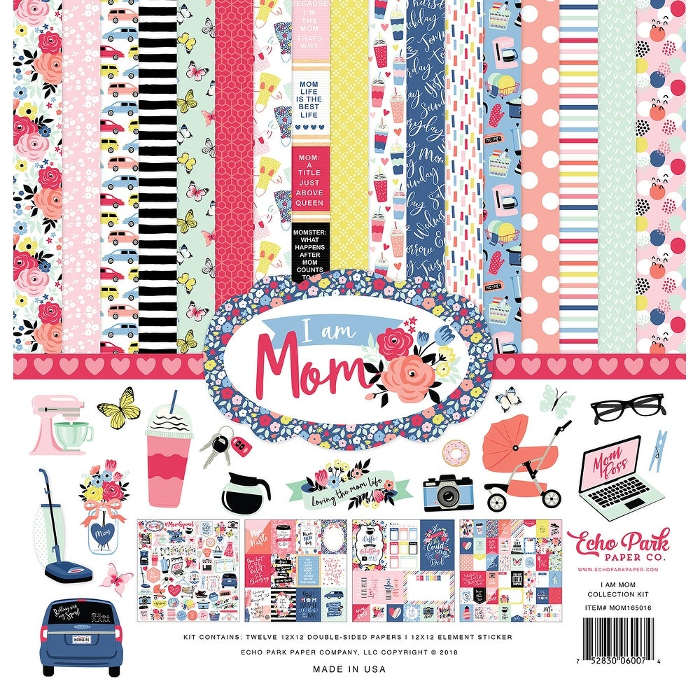 Simple Stories Mom Collection 12 X 12 Collection Kit