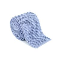 Ford Mens Satin lavender  100% Silk Knit Skinny Square Tie - One Size