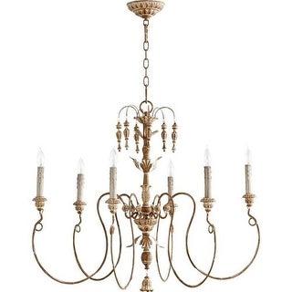 Quorum International 6006-6 Salento 6 Light 1 Tier Chandelier