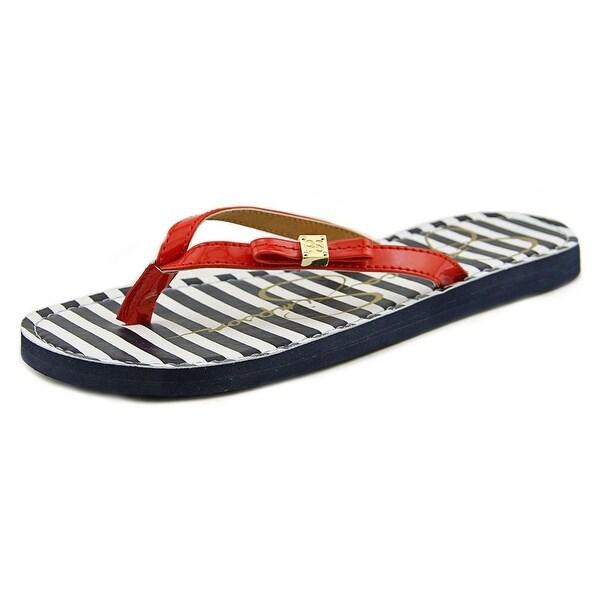 Jessica Simpson Duchess Open Toe Synthetic Flip Flop Sandal