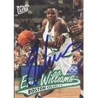Erik Williams Boston Celtics 1996 Fleer Ultra Autographed Card Nice Card This item comes with a c