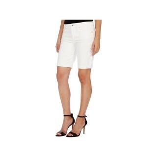 Lucky Brand Womens Bermuda Shorts Denim Casual