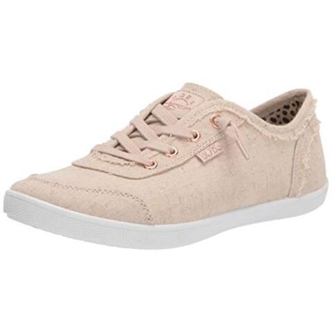 Skechers BOBS Women's 113496 Sneaker, Natural, 9