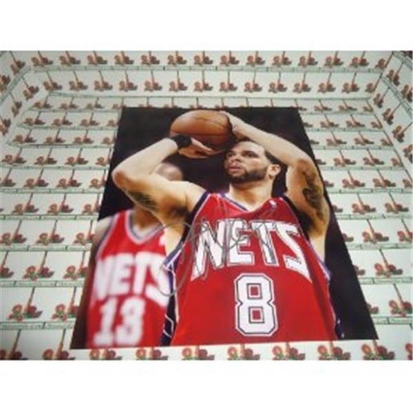 Shop Memorabilia Lane Deron Williams Nets Autographed 8 X 10 Photo - Free  Shipping On Orders Over  45 - Overstock.com - 23416788 349d2a138