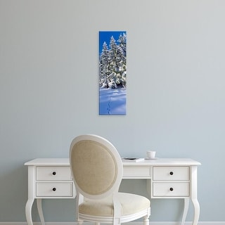 Easy Art Prints Panoramic Images's 'Germany, trees, winter' Premium Canvas Art