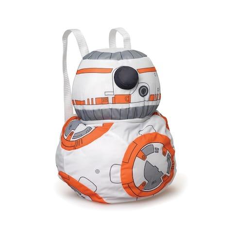 Star Wars The Force Awakens Plush Back Buddies Backpack BB-8 - Multi